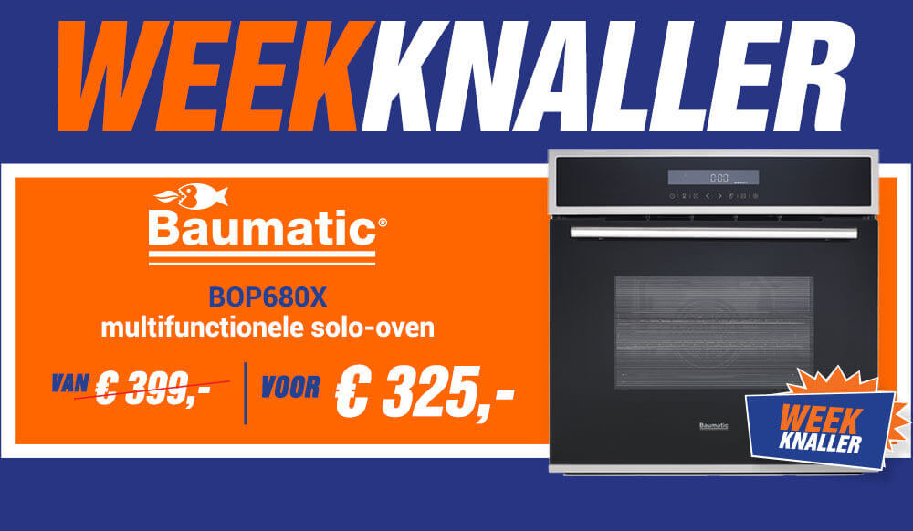 Weekknaller: Baumatic BOP680X